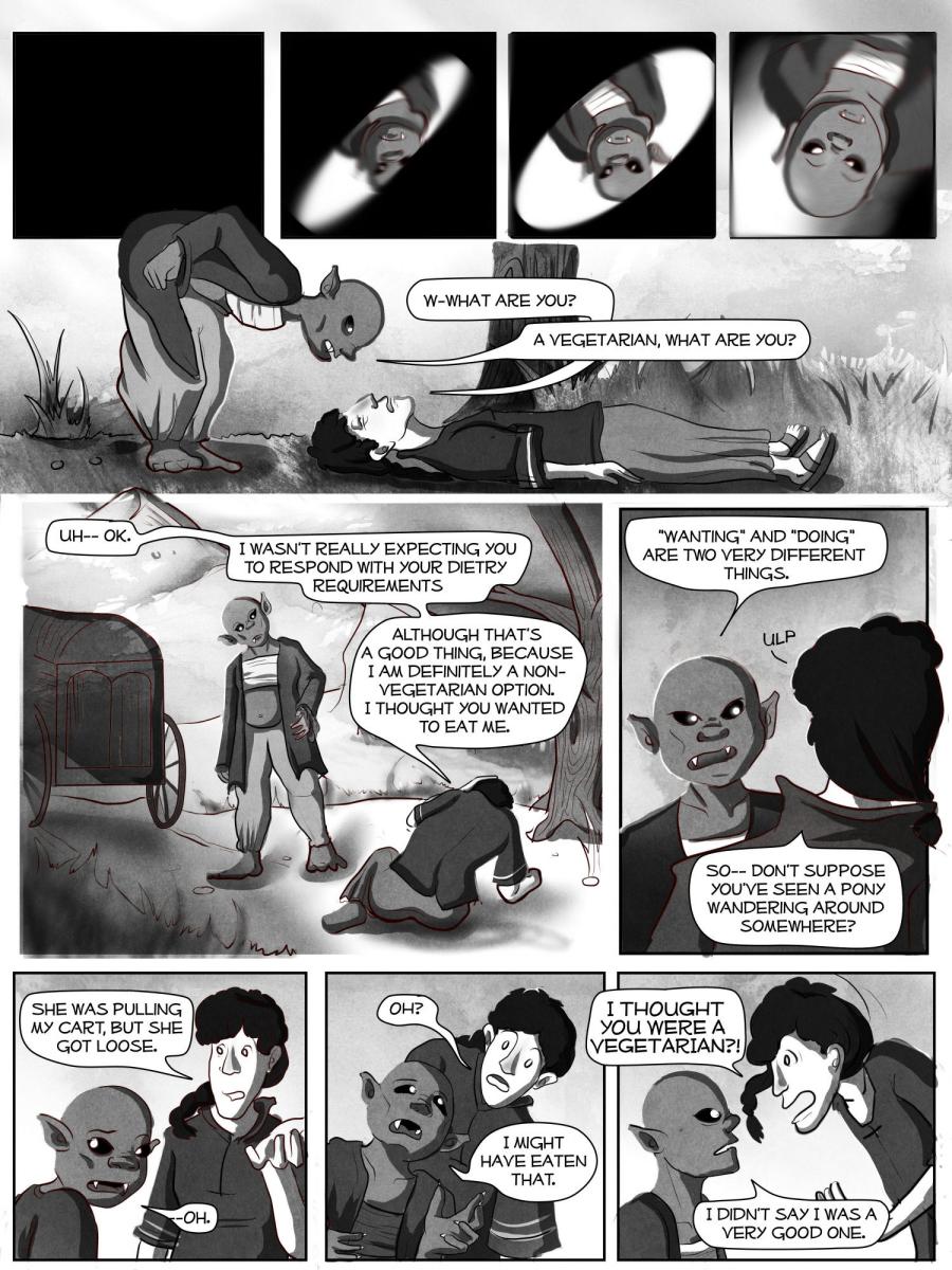 5 - Meeting a Monster